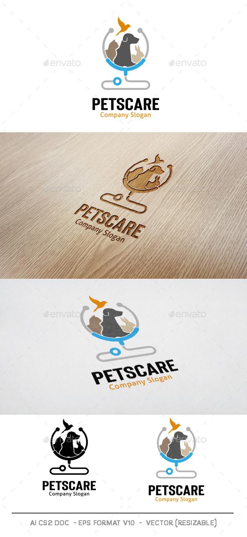Pets Care Logo - Animals Logo Templates
