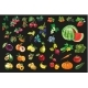 Fruits Vegetables and berriesOrganic Food Icons - GraphicRiver Item for Sale