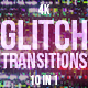 Glitch Transitions - VideoHive Item for Sale