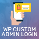 WP Custom Admin Login - WordPress Plugin to make a customized admin login page - CodeCanyon Item for Sale