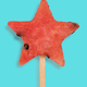 Watermelon star shape popsicle - PhotoDune Item for Sale