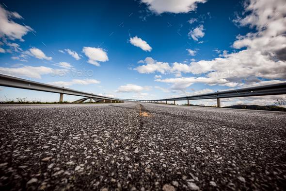 Atlantic Ocean Road Norway - Stock Photo - Images