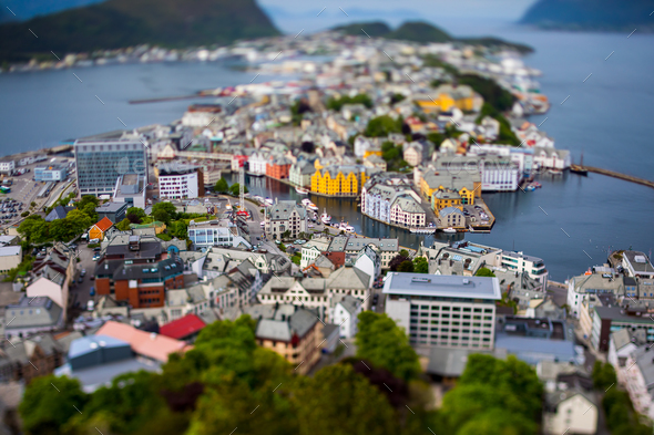 City of Alesund Norway - Stock Photo - Images