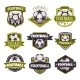 Set of Logos, Emblems on the Theme of Soccer - GraphicRiver Item for Sale