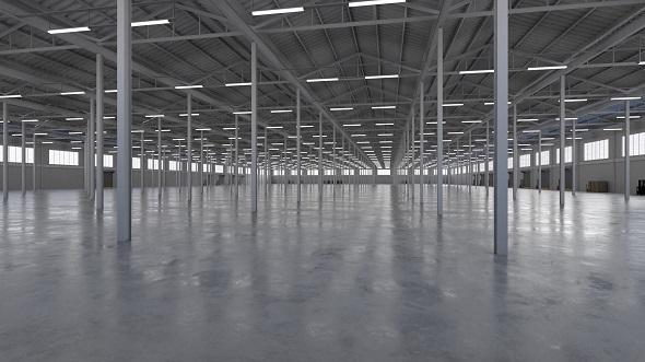 Industrial Building Interior 5b - 3DOcean Item for Sale