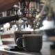 Fresh Black Coffee Pouring From Professional Machine Dispenser in Cups - VideoHive Item for Sale
