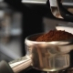 Barista Grinding Coffee Beans in Professional Grinder Machine - VideoHive Item for Sale
