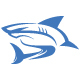 Blue Shark Logo - GraphicRiver Item for Sale