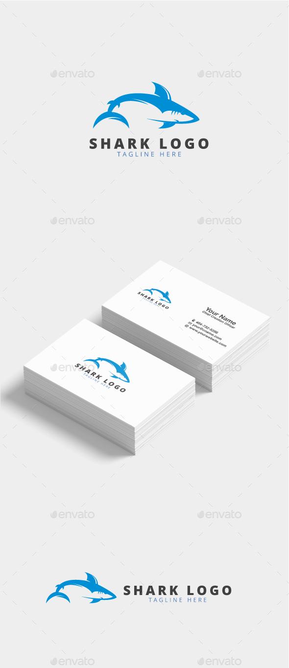 Truveta Shark Logo - Animals Logo Templates