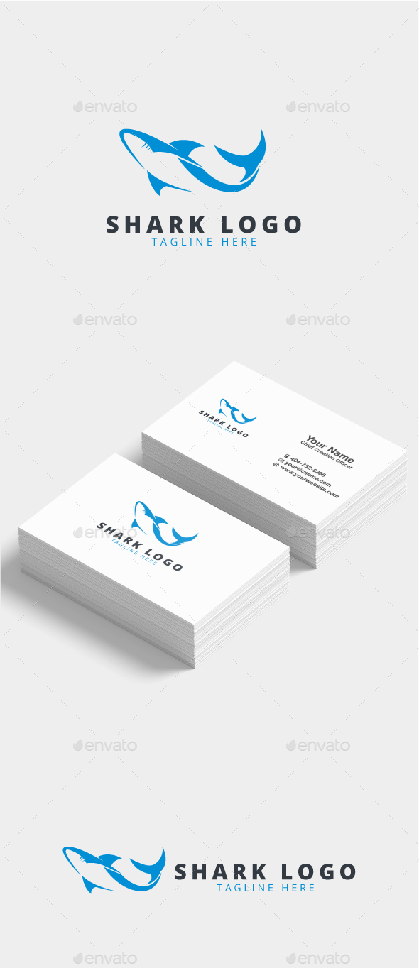 Jetika Shark Logo - Animals Logo Templates