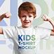 Kids Boy T-Shirt Mockups. Part 2 - GraphicRiver Item for Sale
