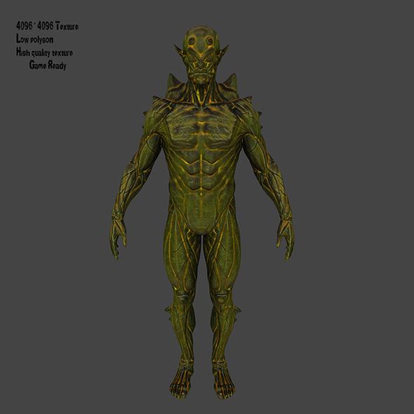 Monster - 3DOcean Item for Sale