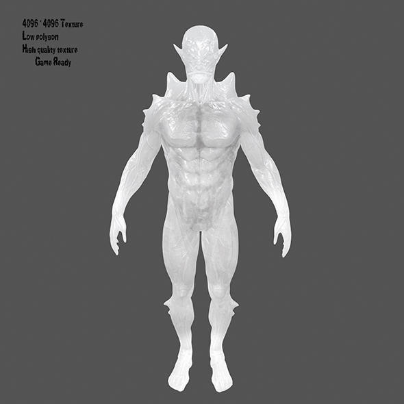 ice monster - 3DOcean Item for Sale