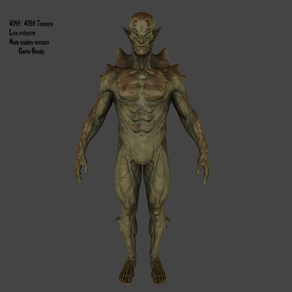 alien - 3DOcean Item for Sale