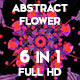 Abstract Tropical Flowers Loops Pack - VideoHive Item for Sale