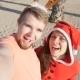 Happy Smiling Santa Couple in Love - VideoHive Item for Sale