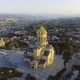 Aerial View of Sameba Church in Tbilisi, Georgia - VideoHive Item for Sale