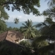 Thailand Sea Islalnd Beach Houses, Wild Mountains Nature Tree and Palm - VideoHive Item for Sale