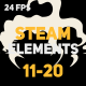 Liquid Elements Steam 11-20 - VideoHive Item for Sale