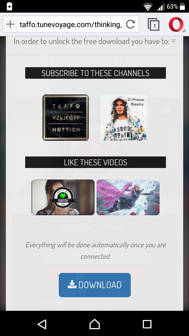 TuneVoyage - Follow to Download & Smart Links  (SoundCloud/Spotify/YouTube/Deezer/Mixcloud)