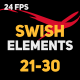 Liquid Elements Swishes 21-30 - VideoHive Item for Sale