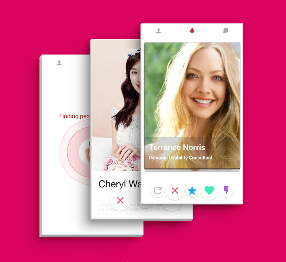 Tinder Like Dating Theme App Template UI Ionic Framework - 6