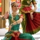 Beautiful Indian Girls Dancer Indian Dance. - VideoHive Item for Sale
