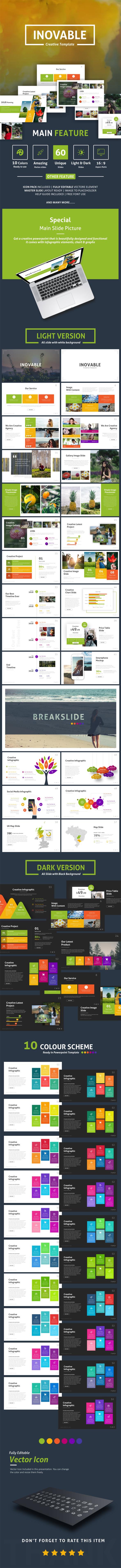 Inovable - Creative Presentation Template - Creative PowerPoint Templates