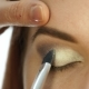 Make-up Artist Hand, Applying Eyeshadow To Woman's Eye Using Brush - VideoHive Item for Sale