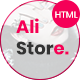 Alistore - Responsive Minimal eCommerce HTML Template - ThemeForest Item for Sale