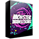 Monster Transitions - VideoHive Item for Sale
