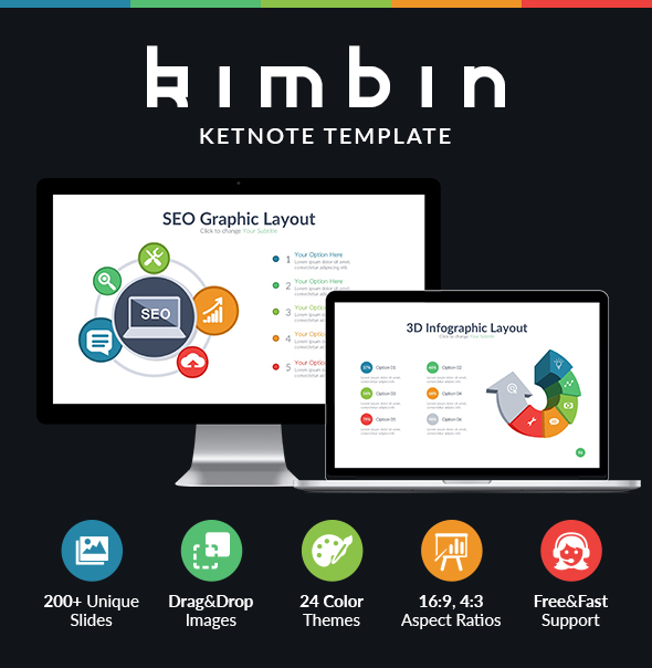 Kimbin - Multipurpose Keynote Template - Business Keynote Templates