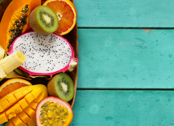 Tropical Fruit  - Stock Photo - Images