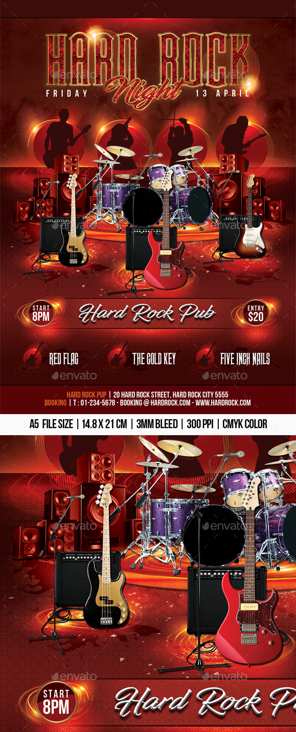 Hard Rock Night - Concerts Events