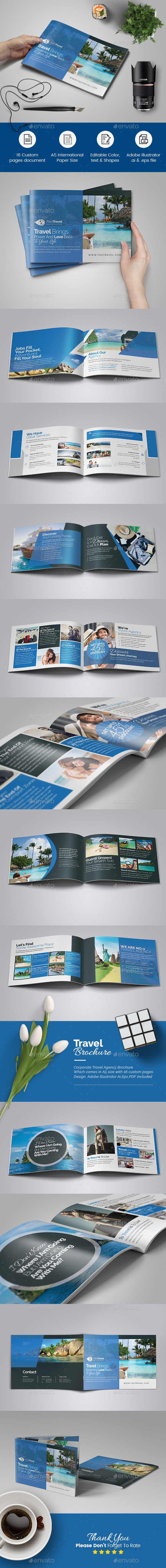 Travel Brochure Template - Corporate Brochures