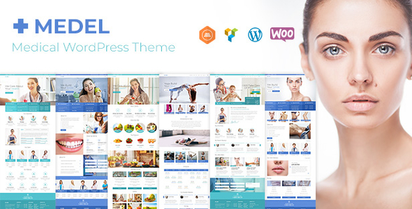 Image of Medel | A Contemporary Medical WordPress Theme