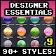 Designer Essentials Ultimate Precious Styles Vol.9 - GraphicRiver Item for Sale