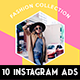 10 Instagram Fashion Banner - GraphicRiver Item for Sale