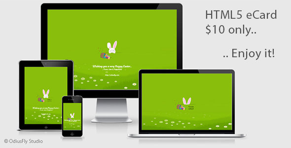 Happy Easter Card v2 - CodeCanyon Item for Sale