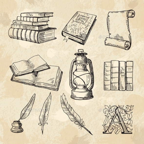 Literature Concept Pictures - Man-made Objects Objects