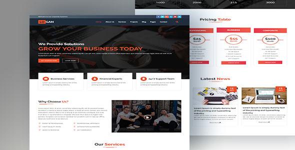 Image of LOGAN-Multipurpose HTML5 Business Template