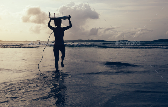 Go for surfing - Stock Photo - Images