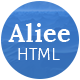 Aliee - Creative Agency HTML5 Template - ThemeForest Item for Sale