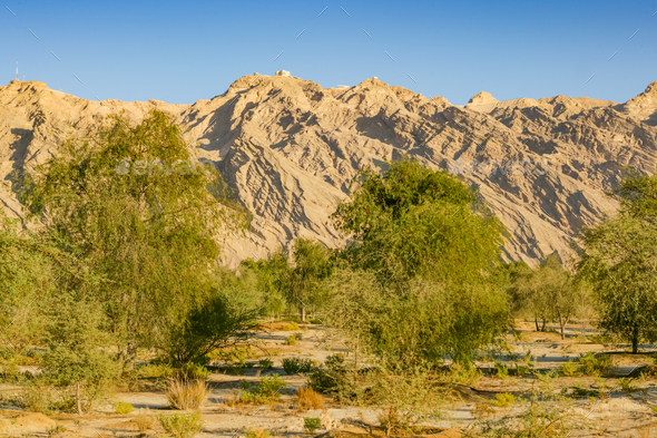 Jebel Hafit near Al Ain in the UAE - Stock Photo - Images