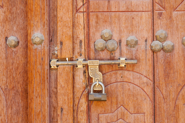 Traditional Arabian Padlock - Stock Photo - Images