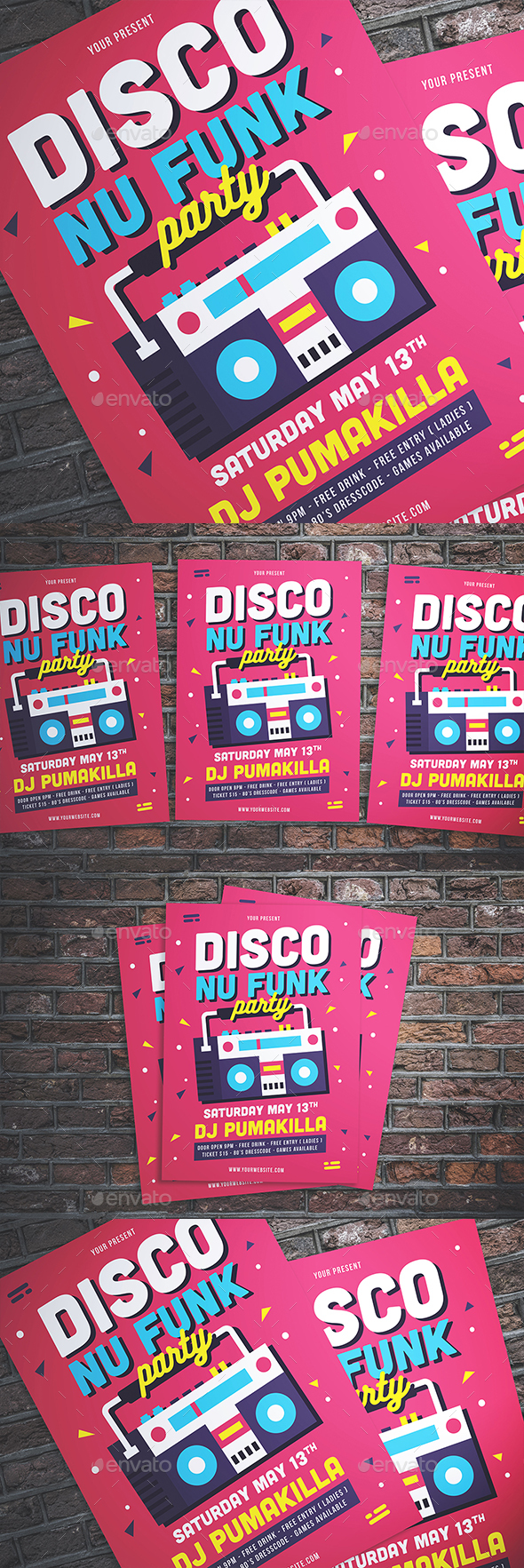 Disco Nu-Funk Party - Clubs & Parties Events