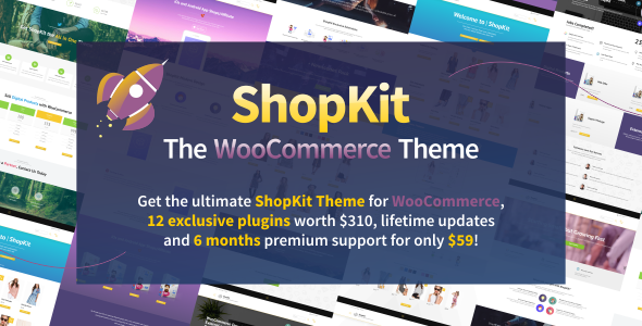 ShopKit - The WooCommerce Theme