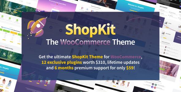 ShopKit - The WooCommerce Theme