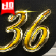 36 Gold Effect 4 - GraphicRiver Item for Sale