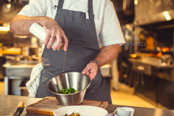 Preparation in the kitchen - Stock Photo - Images